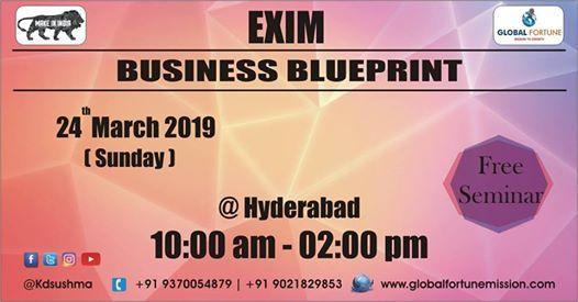 EXIM Business Blueprint