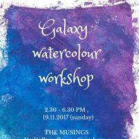 Galaxy Watercolor Workshop