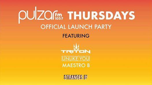 Pulzar FM Thursdays - Official Launch Party