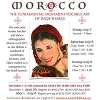 Morocco Workshops &amp Lectures in Vancouver BC