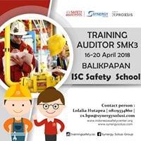 Training Auditor SMK3 Balikpapan 16-20 April 2018