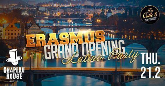 Erasmus Grand Opening Latino Party