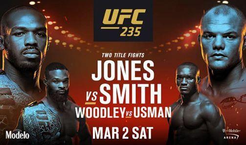 UFC 235 HES BACK