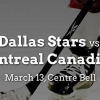 Dallas Stars vs. Montreal Canadiens