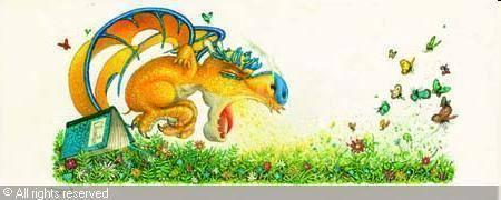 contes et go ter avec charles le dragon et son dessinateur philippe henri turin bron. Black Bedroom Furniture Sets. Home Design Ideas