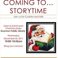 Sants Claus is coming to Storytime