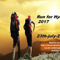 Run for Hyderabad