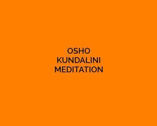OSHO Meditation (Every Wednesday & Friday)