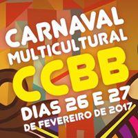 Carnaval Multicultural CCBB - 26 e 27 de fevereiro