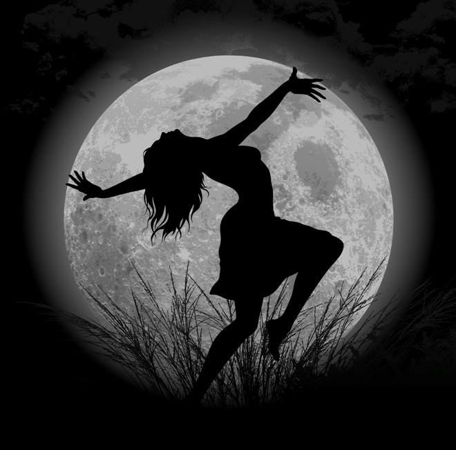 Image result for moon goddess dance
