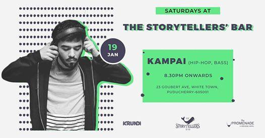 Saturdays ft Kampai at The Storytellers Bar Pondicherry