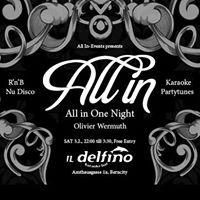 All In One Night with Olivier Wermuth