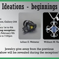 Ideations - beginnings Jewelry by Lillian E. Webster &amp William M. Vanaria