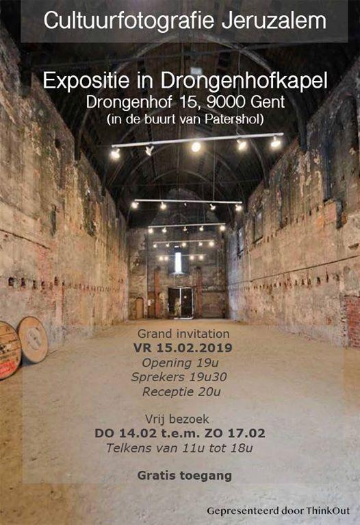 Foto-expositie Jeruzalem