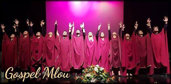 Coro de msica gospel Mlou