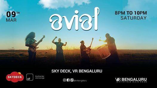 AVIAL live at Skydeck VR Bengaluru