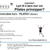 PILATES1-Basis kurs for instruktrer