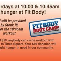 November 18 - December 16 Fit Body Boot Camp