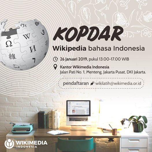 Kopdar Wikipedia bahasa Indonesia