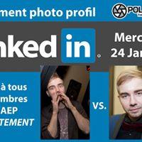Photo de profil LinkedIn - PolyPhoto