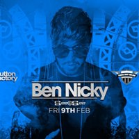 Ben Nicky at The Button Factory