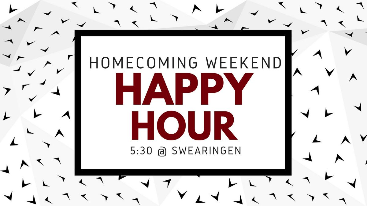 CEC Homecoming Happy Hour