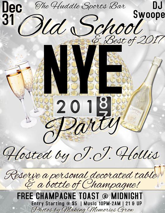 New Years 2018 Celebration at The Huddle Sports Bar, Bourbonnais