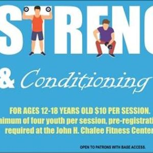 Strength &amp Conditioning Youth Camp
