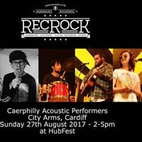 HUB RecRock presents Caerphilly acoustic acts