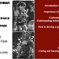 Kimberly Lawrance &amp Zach Gallmann Strongman Seminar
