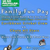 Charity Family Fun Day &amp Cricket Match
