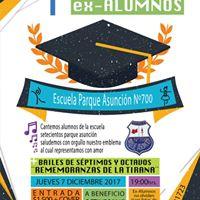 1er Encuentro de Ex-Alumnos Parque Asuncin N 700