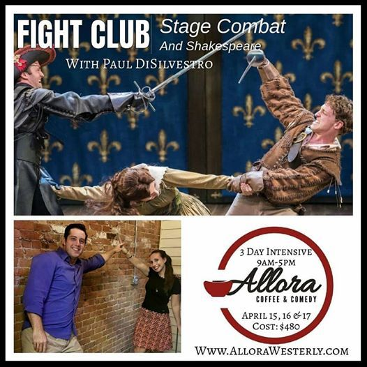 Allora Fight Club Stage Combat & Shakespeare