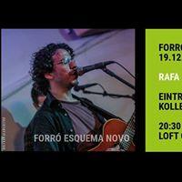 Forr-Live mit Rafa Goulart