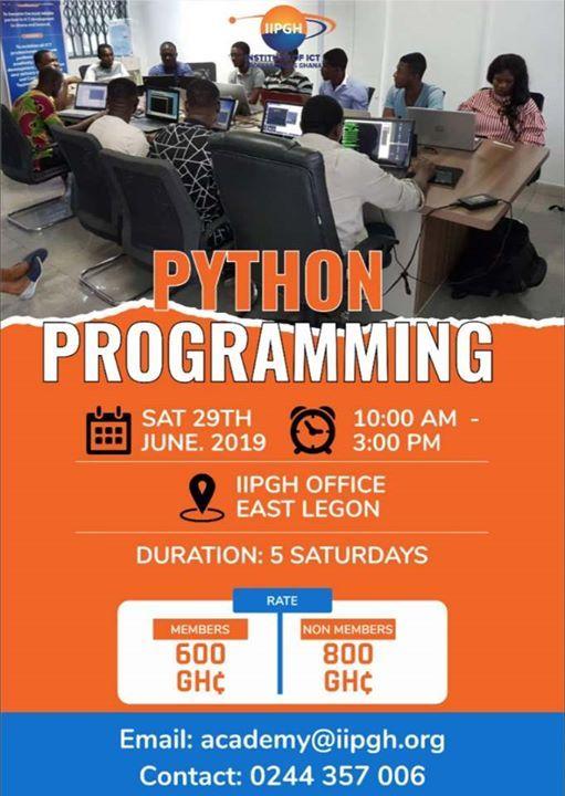 Python Programming Training at Institute of ICT