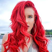 Justina Valentine with Jehry Robinson at Underground Arts