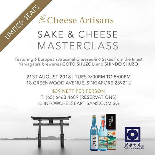 Sake & Cheese Masterclass