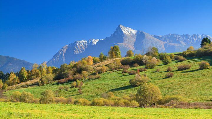 Národný Výstup na Kriváň at Kriváň, Vysoké Tatry