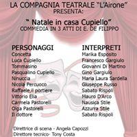 Natale in casa CupielloCompagnia Teatrale lAirone 25DIC 1e6GEN