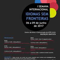 I Semana Internacional Idiomas sem Fronteiras