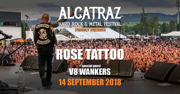 Rose Tattoo  V8 Wankers