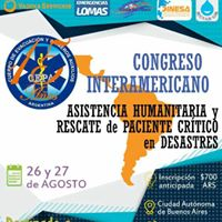 Congreso Interamericano - Asistencia Humanitaria y Rescate
