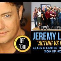 Jeremy London in Memphis New Workshop