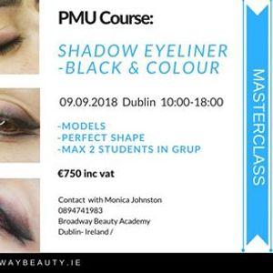 Shadow Eyeliner - Black &amp Colour