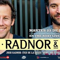 Radnor &amp Lee en Argentina (Ted de How i met your mother)