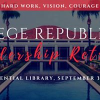 College Republicans Leadership Retreat