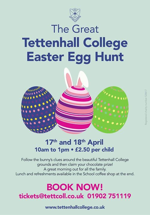 The Great Tettenhall College Easter Egg Hunt