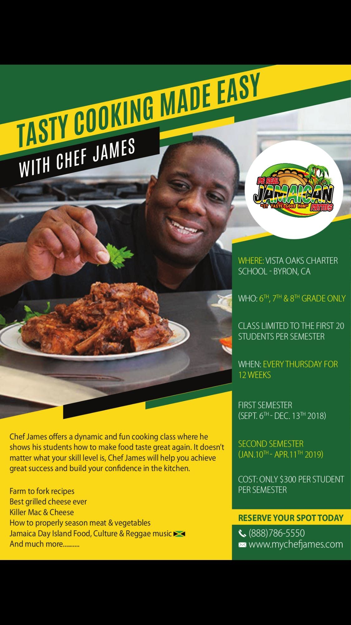 Tasty Cooking Made Easy With Chef James