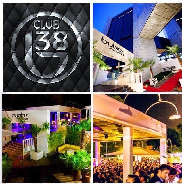 reputable site fd296 04523 B38 Club Byblos Milano // OPENING GARDEN PARTTY Venerdì ...