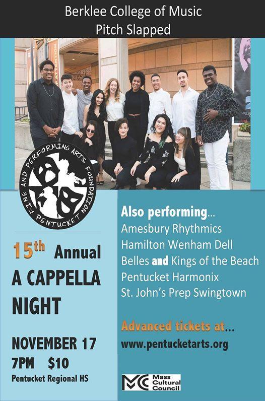 15th Annual A Cappella Night
